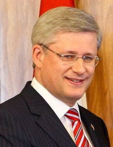 Stephen Harper was prime minister of Canada for three terms.
