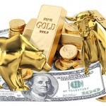 Gold Tests $1,320 Support Amid Wild Ride For Stock Market