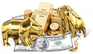 bull and bear gold market