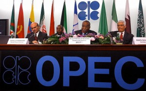 OPEC meeting in Vienna, Austria