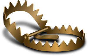 gold bear trap