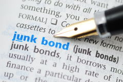 junk bonds dictionary