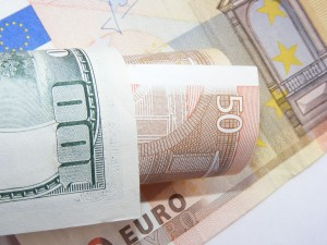 euros-and-dollars