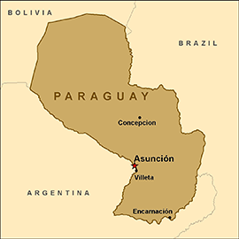 map-paraguay