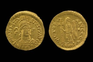 Gold Solidus of East Roman Emperor Anastasius I (British Museum, CC BY-NC-SA 4.0)
