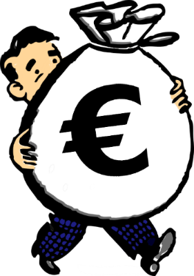 euro-money-bag