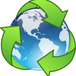 recycle-earth-white-background