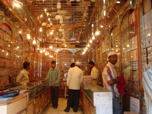 gold bazaar in Hyderabad,India
