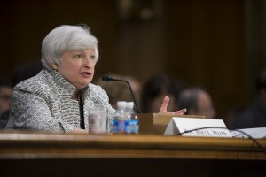 Fed Chair Janet Yellen testifying before Congress (photo: Federal Reserve)