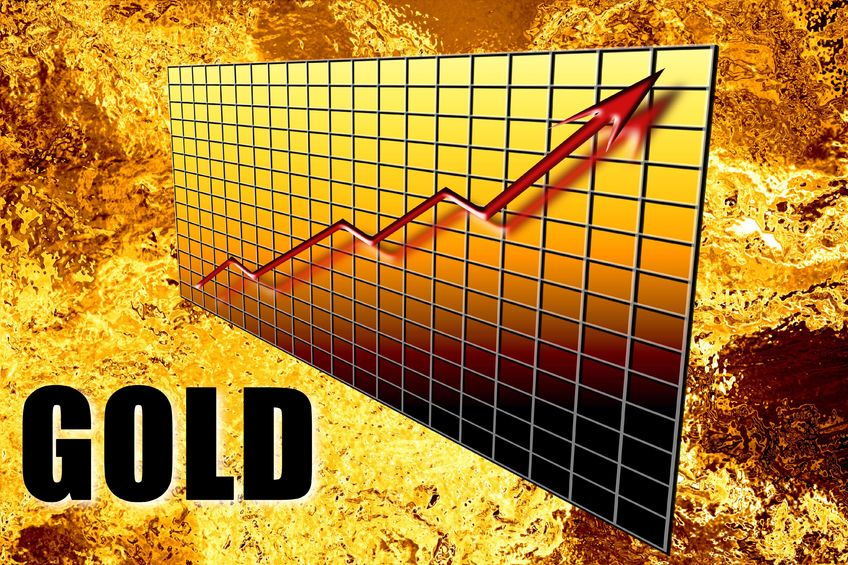 Gold Tests $1,200 Level