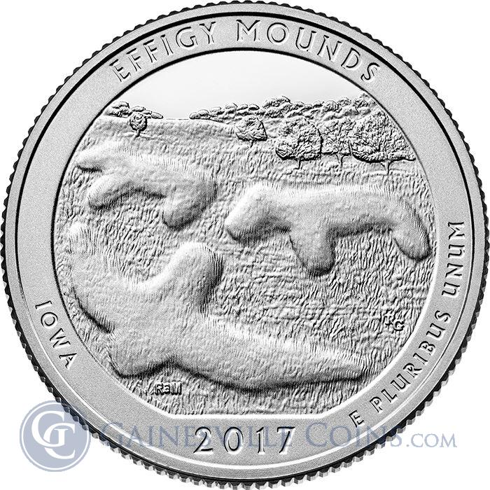 effigy mounds iowa ATB coin