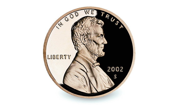 Lincoln cent penny