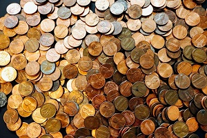 A large pile of Lincoln Cents