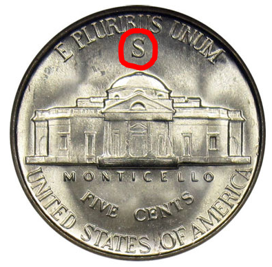 what nickels are made silver